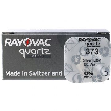 Rayovac 373 SR916SW 1.5V Silver Oxide Watch Battery